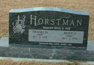 HORSTMAN, FRANKLIN - Hutchinson County, South Dakota | FRANKLIN HORSTMAN - South Dakota Gravestone Photos