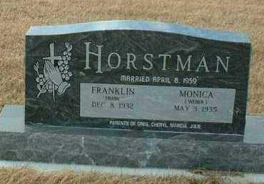 HORSTMAN, MONICA - Hutchinson County, South Dakota   MONICA HORSTMAN - South Dakota Gravestone Photos