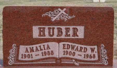 HUBER, EDWARD W - Hutchinson County, South Dakota | EDWARD W HUBER - South Dakota Gravestone Photos