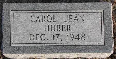 HUBER, CAROL JEAN - Hutchinson County, South Dakota | CAROL JEAN HUBER - South Dakota Gravestone Photos