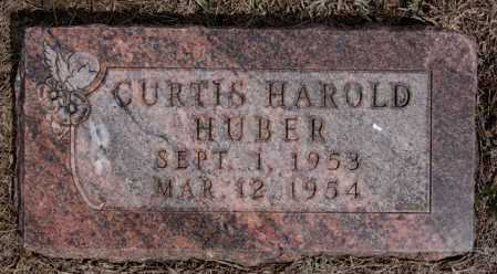 HUBER, CURTIS HAROLD - Hutchinson County, South Dakota | CURTIS HAROLD HUBER - South Dakota Gravestone Photos