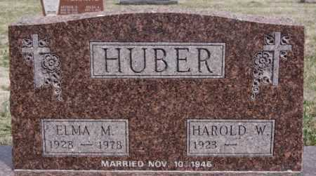 HUBER, HAROLD W. - Hutchinson County, South Dakota | HAROLD W. HUBER - South Dakota Gravestone Photos