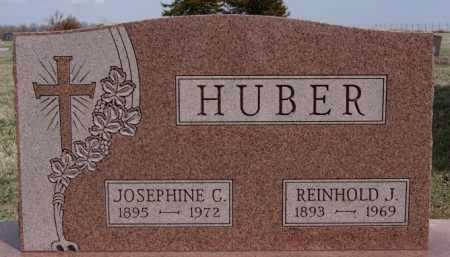 HUBER, REINHOLD J - Hutchinson County, South Dakota | REINHOLD J HUBER - South Dakota Gravestone Photos