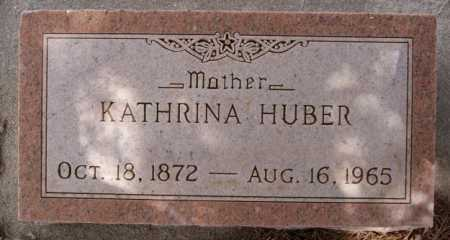 HUBER, KATHRINA - Hutchinson County, South Dakota   KATHRINA HUBER - South Dakota Gravestone Photos