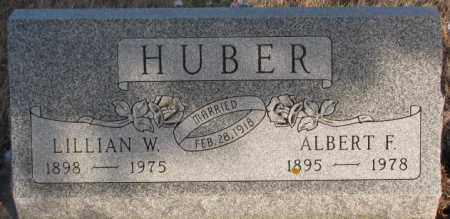 HUBER, LILLIAN W - Hutchinson County, South Dakota | LILLIAN W HUBER - South Dakota Gravestone Photos