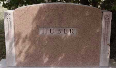 HUBER, FAMILY MARKER - Hutchinson County, South Dakota | FAMILY MARKER HUBER - South Dakota Gravestone Photos