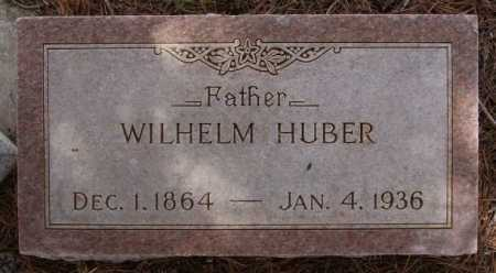 HUBER, WILHELM - Hutchinson County, South Dakota | WILHELM HUBER - South Dakota Gravestone Photos