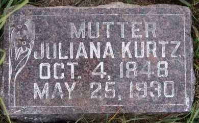JANS, JULIANA - Hutchinson County, South Dakota | JULIANA JANS - South Dakota Gravestone Photos