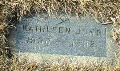 JUNG, KATHLEEN - Hutchinson County, South Dakota | KATHLEEN JUNG - South Dakota Gravestone Photos