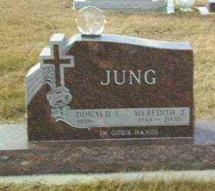 JUNG, MEREDITH - Hutchinson County, South Dakota | MEREDITH JUNG - South Dakota Gravestone Photos