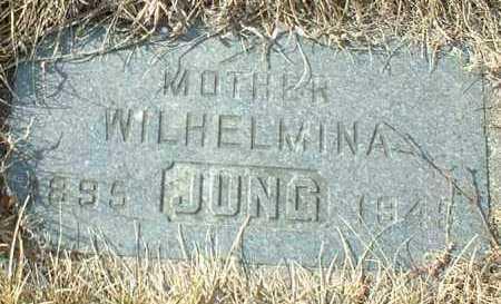 JUNG, WILHELMINA - Hutchinson County, South Dakota | WILHELMINA JUNG - South Dakota Gravestone Photos