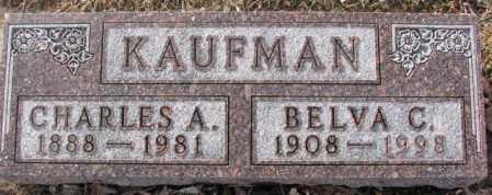 KAUFMAN, BELVA C. - Hutchinson County, South Dakota | BELVA C. KAUFMAN - South Dakota Gravestone Photos