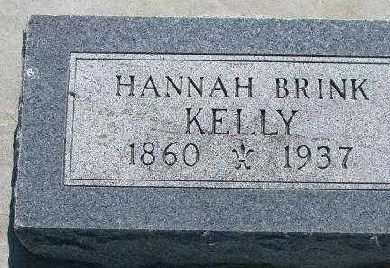 KELLY, HANNAH - Hutchinson County, South Dakota | HANNAH KELLY - South Dakota Gravestone Photos
