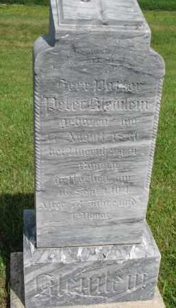 KLEINLEIN, PETER - Hutchinson County, South Dakota   PETER KLEINLEIN - South Dakota Gravestone Photos