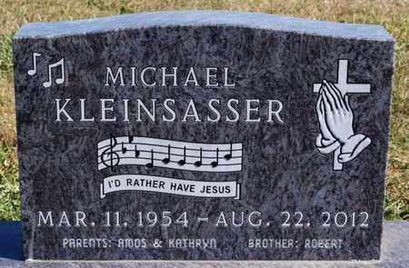 KLEINSASSER, MICHAEL - Hutchinson County, South Dakota   MICHAEL KLEINSASSER - South Dakota Gravestone Photos