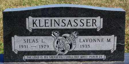 KLEINSASSER, SILAS L - Hutchinson County, South Dakota | SILAS L KLEINSASSER - South Dakota Gravestone Photos