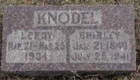 KNODEL, SHIRLEY - Hutchinson County, South Dakota   SHIRLEY KNODEL - South Dakota Gravestone Photos