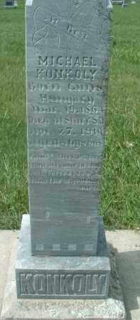 KONKOLY, MICHAEL - Hutchinson County, South Dakota   MICHAEL KONKOLY - South Dakota Gravestone Photos