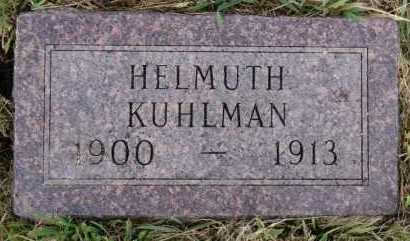 KUHLMAN, HELMUTH - Hutchinson County, South Dakota | HELMUTH KUHLMAN - South Dakota Gravestone Photos