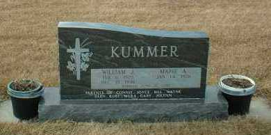 KUMMER, WILLIAM - Hutchinson County, South Dakota | WILLIAM KUMMER - South Dakota Gravestone Photos