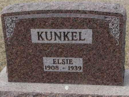 KUNKEL, ELSIE - Hutchinson County, South Dakota | ELSIE KUNKEL - South Dakota Gravestone Photos