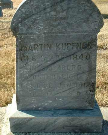 KUPFNER, MARTIN - Hutchinson County, South Dakota | MARTIN KUPFNER - South Dakota Gravestone Photos