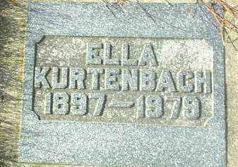 KURTENBACH, ELLA - Hutchinson County, South Dakota | ELLA KURTENBACH - South Dakota Gravestone Photos