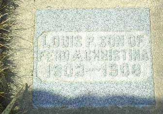 KURTENBACH, LOUIS - Hutchinson County, South Dakota | LOUIS KURTENBACH - South Dakota Gravestone Photos