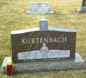 KURTENBACH, VINCENT - Hutchinson County, South Dakota   VINCENT KURTENBACH - South Dakota Gravestone Photos