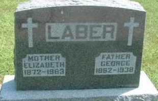 LABER, ELIZABETH - Hutchinson County, South Dakota | ELIZABETH LABER - South Dakota Gravestone Photos