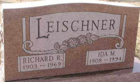 LEISCHNER, RICHARD R. - Hutchinson County, South Dakota | RICHARD R. LEISCHNER - South Dakota Gravestone Photos