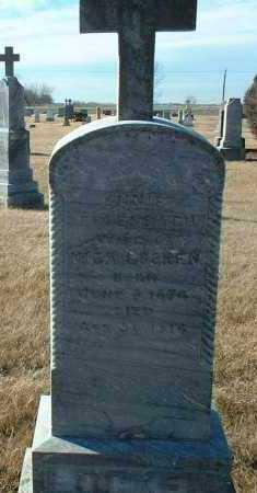 LOCKEN, ANNIE - Hutchinson County, South Dakota | ANNIE LOCKEN - South Dakota Gravestone Photos