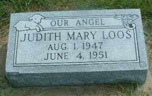 LOOS, JUDITH MARY - Hutchinson County, South Dakota | JUDITH MARY LOOS - South Dakota Gravestone Photos