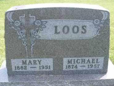 LOOS, MICHAEL - Hutchinson County, South Dakota | MICHAEL LOOS - South Dakota Gravestone Photos