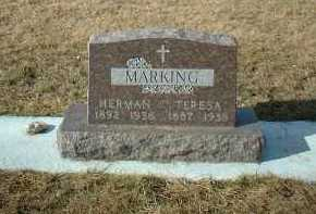 MARKING, HERMAN - Hutchinson County, South Dakota | HERMAN MARKING - South Dakota Gravestone Photos