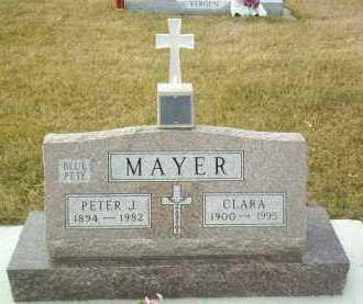 MAYER, PETER J. - Hutchinson County, South Dakota | PETER J. MAYER - South Dakota Gravestone Photos