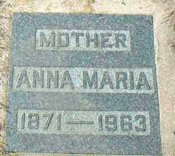 MECHTENBERG, ANNA - Hutchinson County, South Dakota   ANNA MECHTENBERG - South Dakota Gravestone Photos