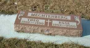 MECHTENBERG, THEO - Hutchinson County, South Dakota | THEO MECHTENBERG - South Dakota Gravestone Photos