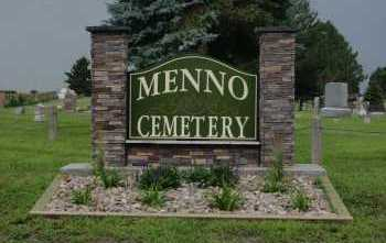 *MENNO, FRONT GATE - Hutchinson County, South Dakota | FRONT GATE *MENNO - South Dakota Gravestone Photos