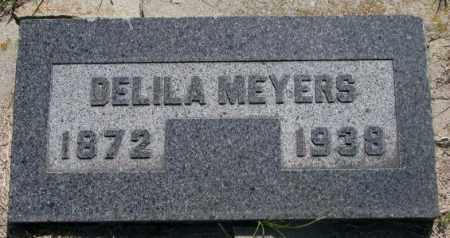 MEYERS, DELILA - Hutchinson County, South Dakota | DELILA MEYERS - South Dakota Gravestone Photos