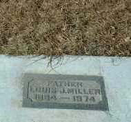 MILLER, LOUIS - Hutchinson County, South Dakota | LOUIS MILLER - South Dakota Gravestone Photos