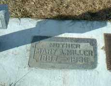 MILLER, MARY - Hutchinson County, South Dakota | MARY MILLER - South Dakota Gravestone Photos