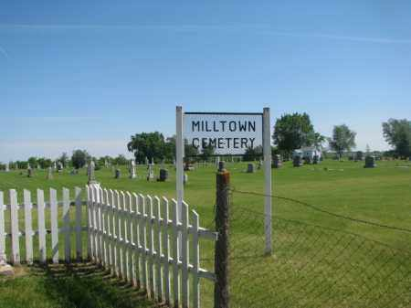 *MILLTOWN, OVERVIEW - Hutchinson County, South Dakota | OVERVIEW *MILLTOWN - South Dakota Gravestone Photos