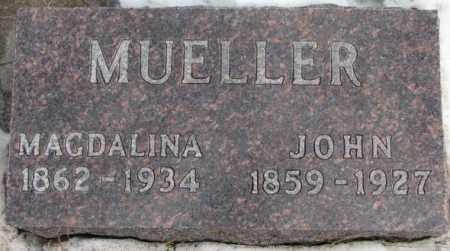 MUELLER, JOHN - Hutchinson County, South Dakota | JOHN MUELLER - South Dakota Gravestone Photos