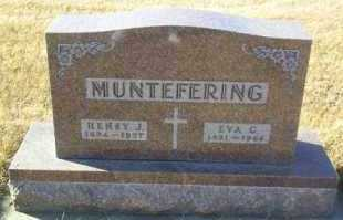 MUNTEFERING, HENRY - Hutchinson County, South Dakota | HENRY MUNTEFERING - South Dakota Gravestone Photos