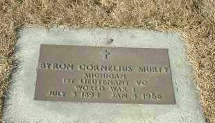 MURTY, BYRON CORNELIUS - Hutchinson County, South Dakota | BYRON CORNELIUS MURTY - South Dakota Gravestone Photos