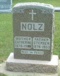 NOLZ, CATHERINE - Hutchinson County, South Dakota | CATHERINE NOLZ - South Dakota Gravestone Photos
