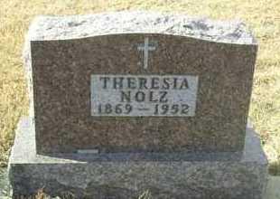 NOLZ, THERESIA - Hutchinson County, South Dakota | THERESIA NOLZ - South Dakota Gravestone Photos
