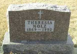 NOLZ, THERESIA - Hutchinson County, South Dakota   THERESIA NOLZ - South Dakota Gravestone Photos