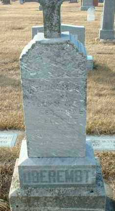 OBEREMBT, WILLIAM - Hutchinson County, South Dakota | WILLIAM OBEREMBT - South Dakota Gravestone Photos